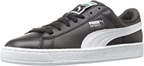 Banco rotación Desfiladero  Amazon.com | PUMA Men's Basket Classic LFS Sneaker, Black/White, 4 M US |  Fashion Sneakers
