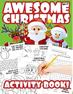 Awesome Christmas Activity Book A Stocking Stuffer