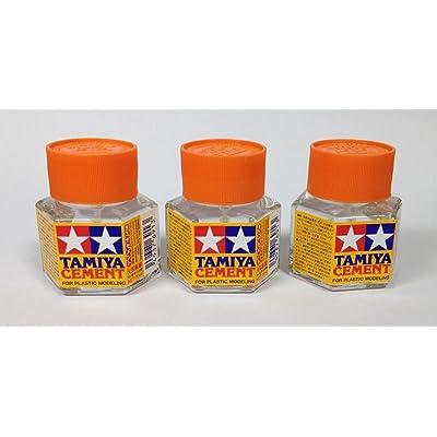 Tamiya 87012 Plastic Cement 20ml 3pcs Set [Japan Import]: Toys & Games