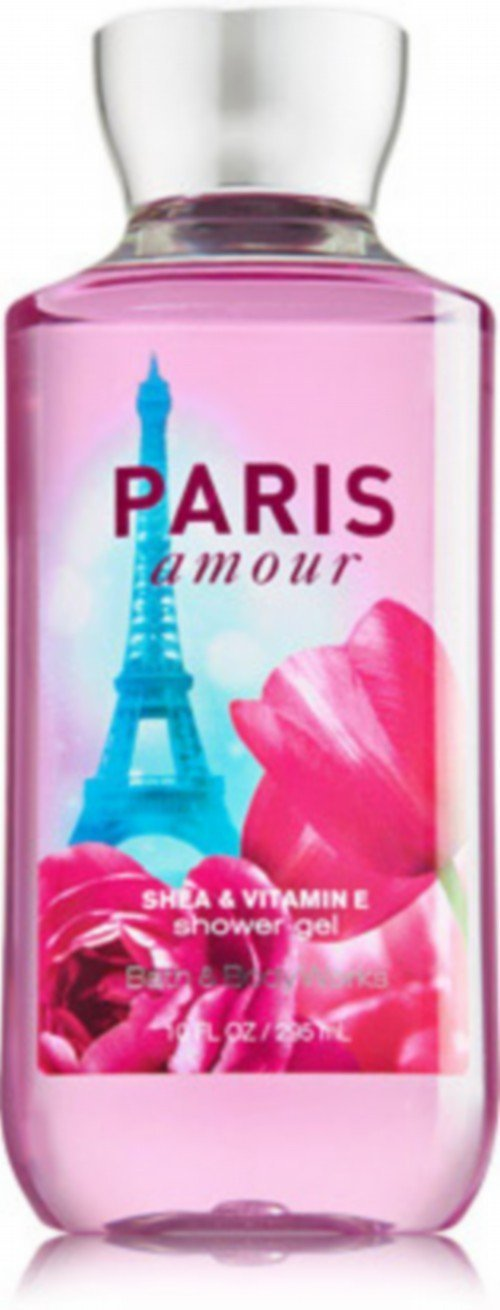 Bath and Body Works Paris Amour Shea Enriched Shower Gel 10 Oz