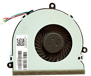 Replacement Compatible Laptop CPU Cooling Fan Cooler for HP Pavilion 15g-ad007TX 15g-ad107TX 15G-AD001TX 15-be007TX dfs470805cl0t dfs470805clOt fk3m 15-ac073TX 4 Pins 4 Wires
