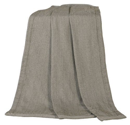 HiEnd Accents Fairfield Herringbone Throw by HiEnd - Fairfield Mall