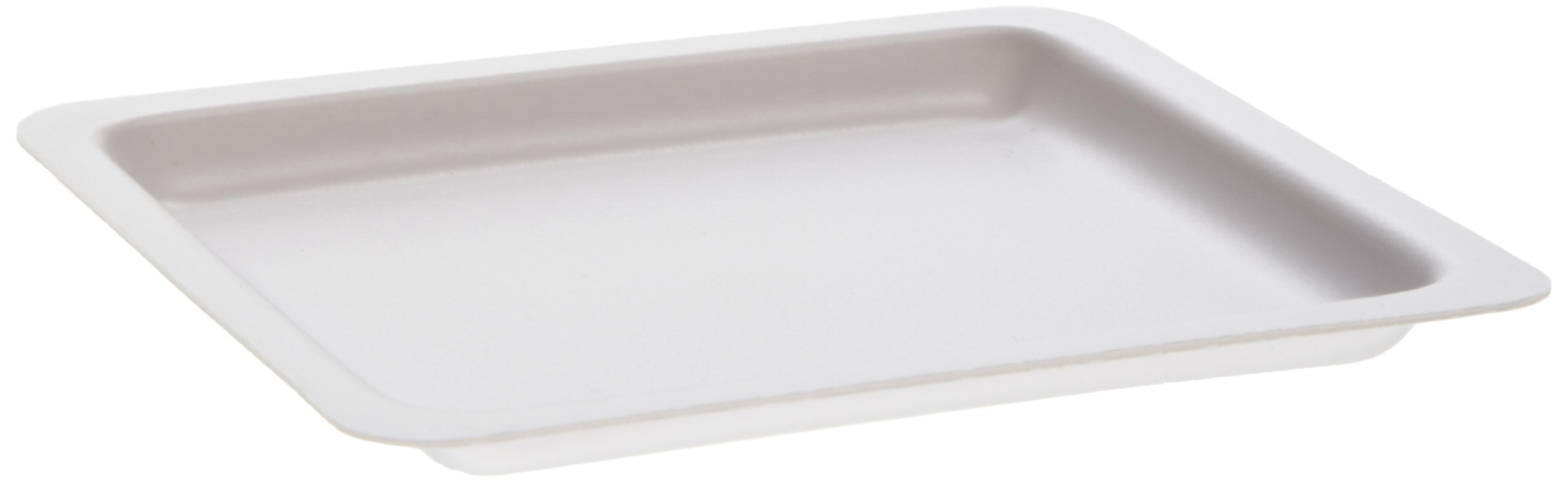 Heathrow Scientific HS1422 Square Weighing Boat, Polystyrene, Medium, 90 mm L x 90 mm W x 7 mm D, White (Pack of 500) by Heathrow Scientific