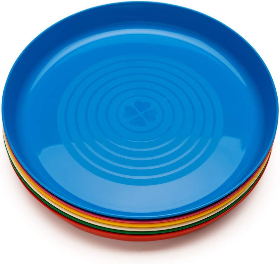 Ikea Plato, Multicolor, 19x19x5 cm, 6 Unidades