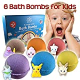 Organic Handmade Bath Bombs with POKEMON TOYS INSIDE for Kids – Natural and Safe Bath Bombs with Essential Oils and Vitamins