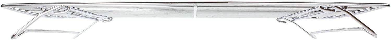 spares2go Edelstahl faltbar Boden Ablage f/ür Indesit Backofen Herd 380/x 320/mm