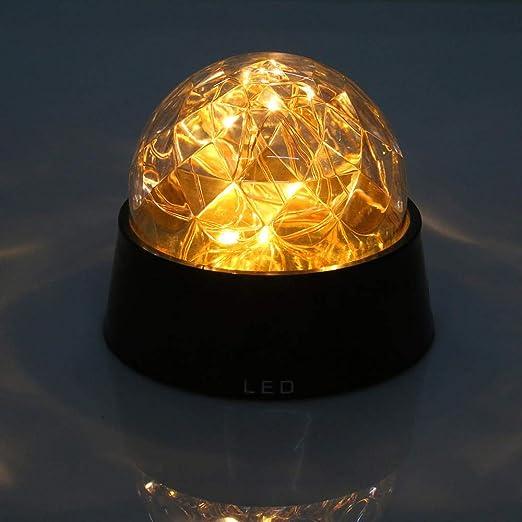 LÁMPARA DE MESA Alambre de cobre LED Fuegos artificiales Luz ...