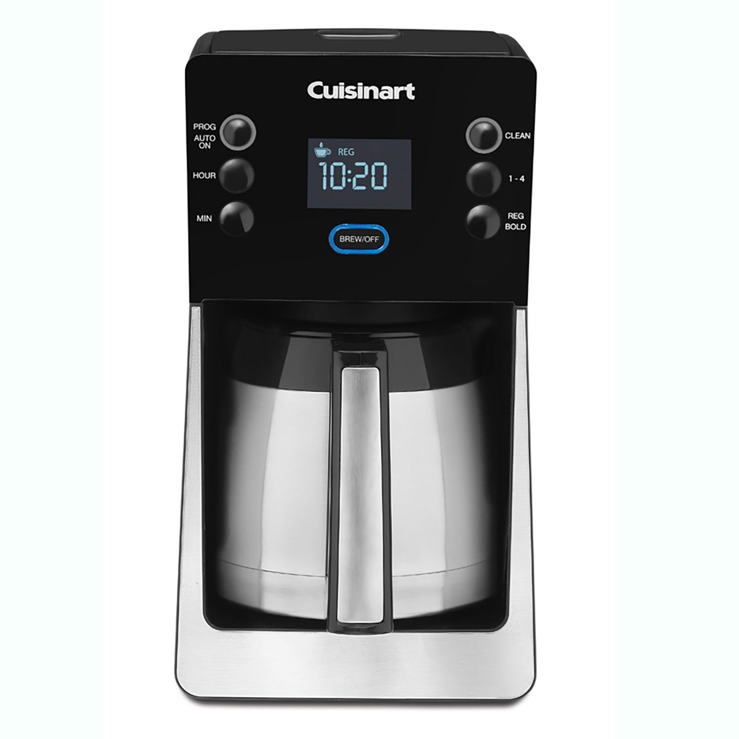 Cuisinart DCC-2900FR Coffeemaker, Brushed Stainless/Black