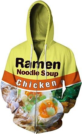 CieKen Unisex 3D Printed Pullover Long Sleeve Fleece Hooded Sweatshirts with Pockets