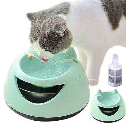Amazon.com: BAODANstore Fuente de agua para gatos, fuente de ...
