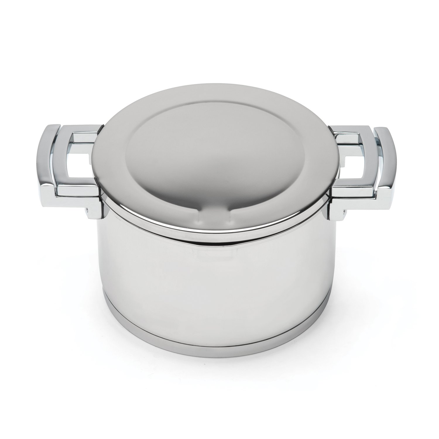 BergHOFF Neo Covered Stainless Steel Casserole, 2.5 quart, Silver