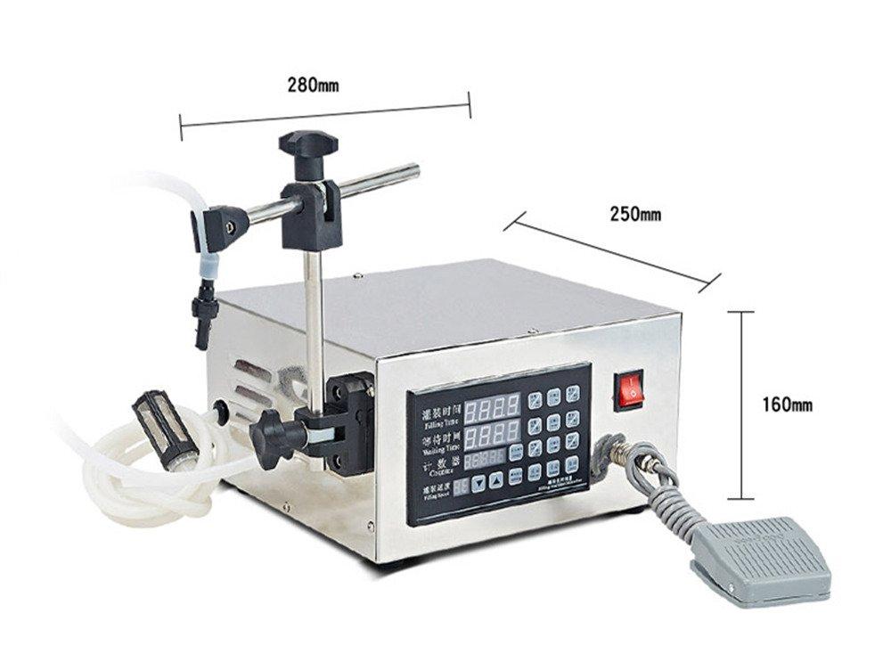 KC-280 Automatic Liquid Filling Machine Intelligent Control Small Beverage Canning Machine by BAOSHISHAN (Image #7)