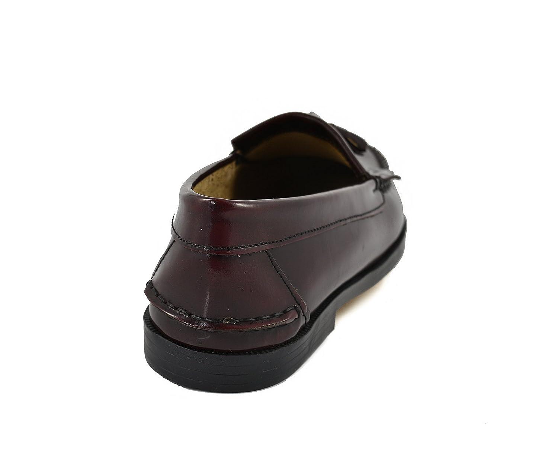 Conbuenpie by Sachini - Zapato Castellano Borlas Mujer Burdeos (EU37): Amazon.es: Zapatos y complementos