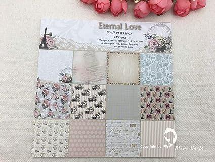 Amazon Com Small Chipinc 24 Sheet 6 X6 Eternal Love Patterned