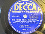 Big Noise From Winnetka (Vocal chorus by Bob Crosby and The Bob-O-Links) b/w Sunset At Sea [10' 78 RPM VINYL]