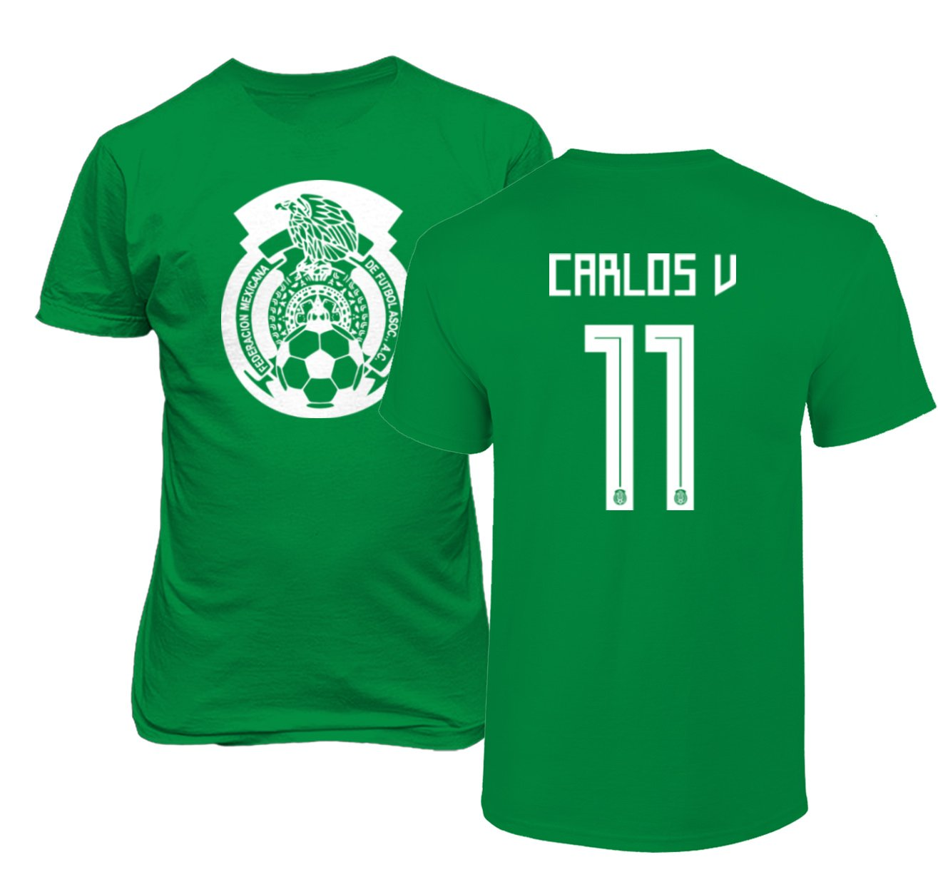 120a66a92d0 ... ireland amazon tcamp mexico 2018 national soccer 11 carlos vela world  championship mens t shirt sports