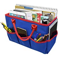 Godery Desktop File Folder Tote and Stock Organize, Fundamentals Art Organizer Storage Craft Tote Bag for Office Desk…