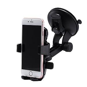Samsung Infuse 4G, Samsung Instinct Hd, Samsung Intercept Mini Car Holder 360° Windshield Mount Suction For Mobile Cell Phone iPhone Samsung GPS