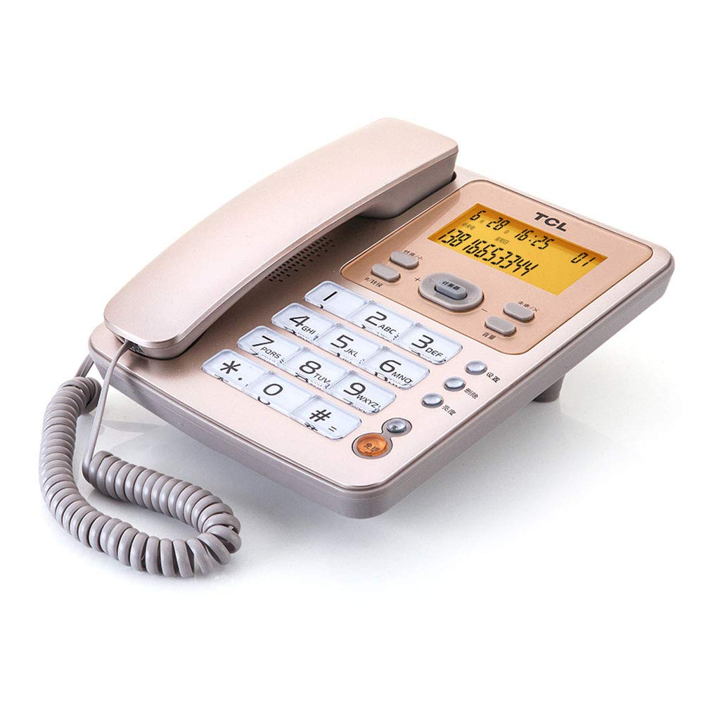 LCM Telephone Landline Office Home Business Phone Caller ID Mobile Phone by LCM