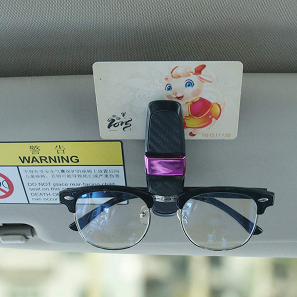 Aiming Auto Sonnenblende Brillenetui Sonnenbrille Speicher-Halter-Brillen Montage Clip Autozubeh/ör