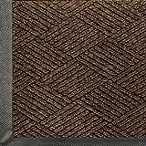 Andersen 2295 Waterhog Eco Premier Polyester Fiber Entrance Indoor/Outdoor Floor Mat, SBR Rubber Backing, 5-Feet Length X 3-Feet Width, 3/8-Inch Thick, Chestnut Brown