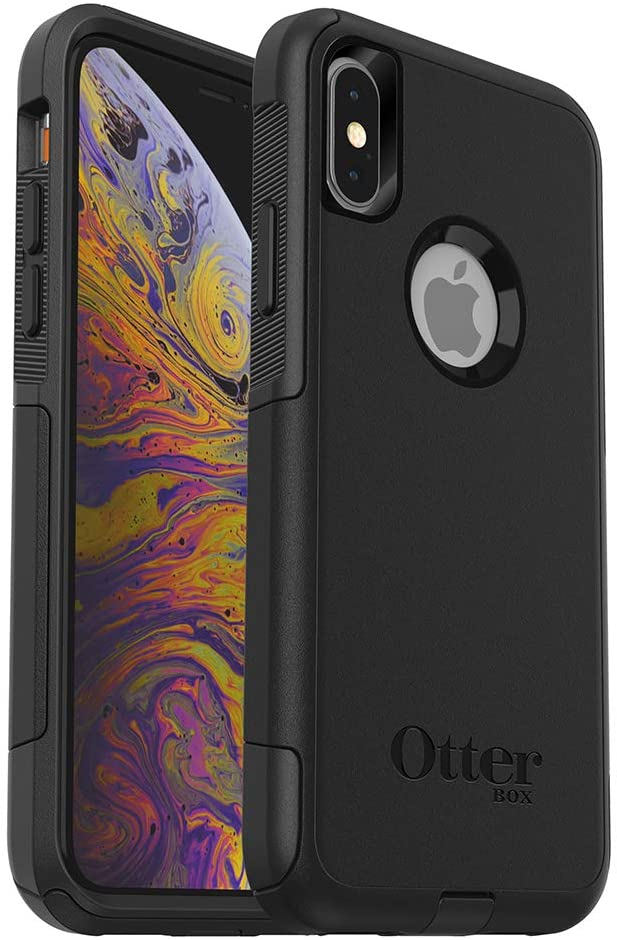 OtterBox COMMUTER SERIES Case for iPhone Xs & iPhone X - Retail Packaging - BLACK