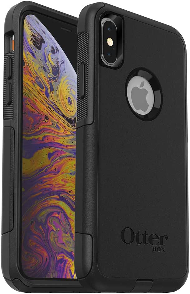 OtterBox Commuter Series Case for iPhone Xs & iPhone X - Frustration Free Packaging - Black