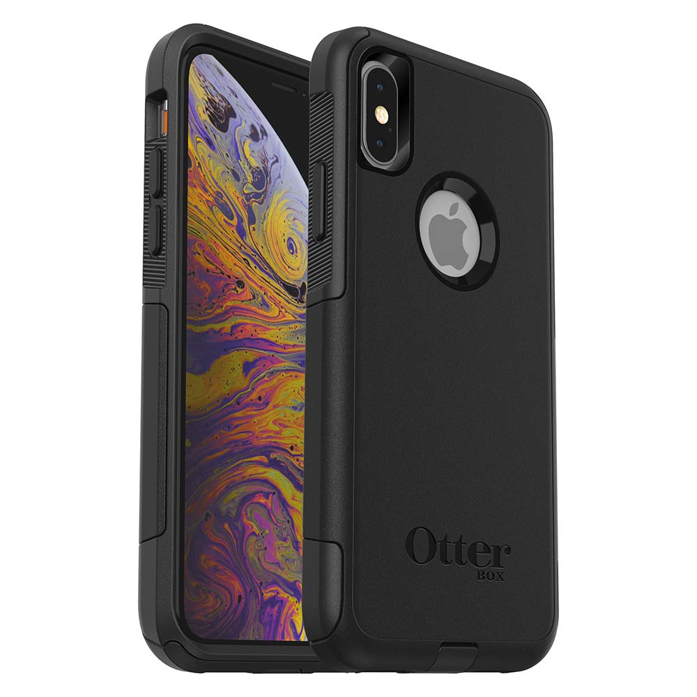 new products f5a10 3ea2e OtterBox Commuter Series Case for iPhone Xs & iPhone X - Frustration Free  Packaging - Black