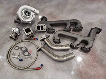 Amazon com: GM 4 3L Turbo Kit Hot Parts T3 Cast 4 3 GMC