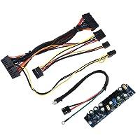 Richer-R 24Pin ATX 120W 12V DC Módulo de Fuente de Alimentación para Computadoras MINI,HTPC,POS,Decodificadores Digitales,Estuche ITX,Servidores de Red,Terminales de banco,Máquinas Mineras/AD,etc.