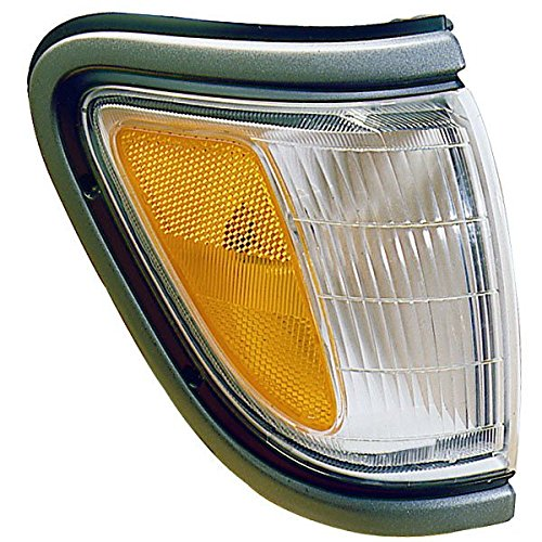 Toyota Tacoma Truck Corner (1995-1996-1997 Toyota Tacoma Pickup Truck (4WD 4 Wheel Drive) Corner Park Light Turn Signal Marker Lamp with Black Trim Right Passenger Side (95 96 97))