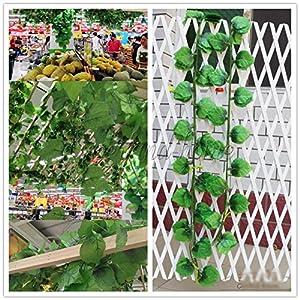 UltaBuild(TM)Hot! 2.5M Artificial Ivy Leaf Hanging Garland Flower Vine/Rattan for DIY Home Wedding Floral Wall Garden Decor C10 109