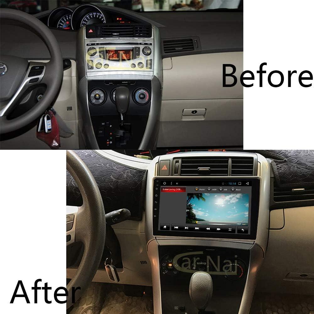 Car Radio GPS Android 8.1 Navigation for Toyota Verso EZ 2007-2016 Car Head Unit Multimedia Autoradio Video Navi with WiFi Bluetooth Android 8.1 1+16G for Toyota Verso EZ