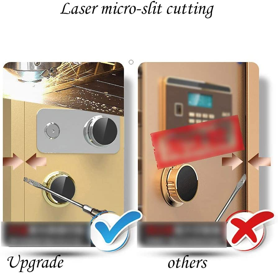 ZCF Security Safes Security Safe Mechanical Lock Box with Key Deposit Box Anti-theft Large Safe Box for Home Office Jewelry Cash Valuables 2 Size Color : Style3, Size : 38x33x45cm