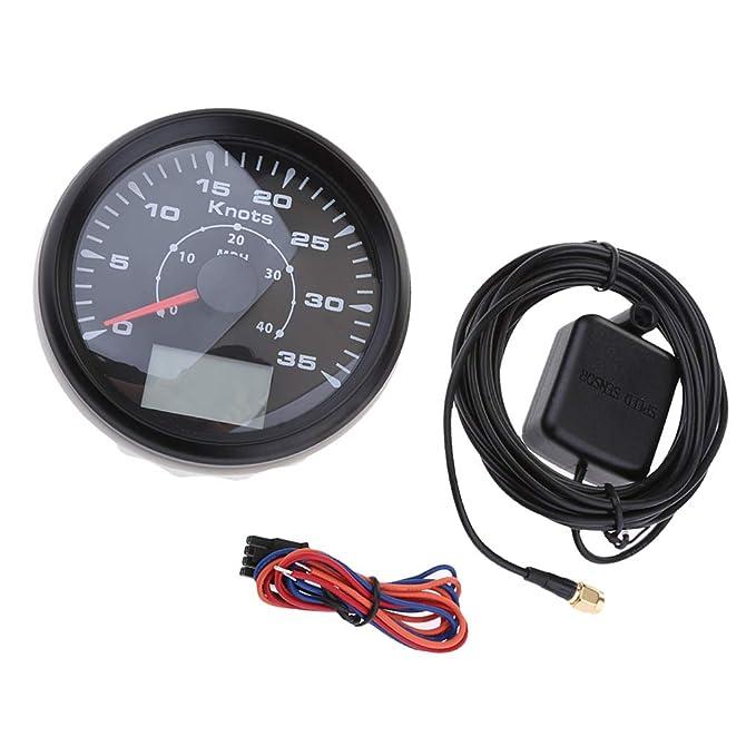 Amazon com: gazechimp Waterproof GPS Speedometer, 40 MPH