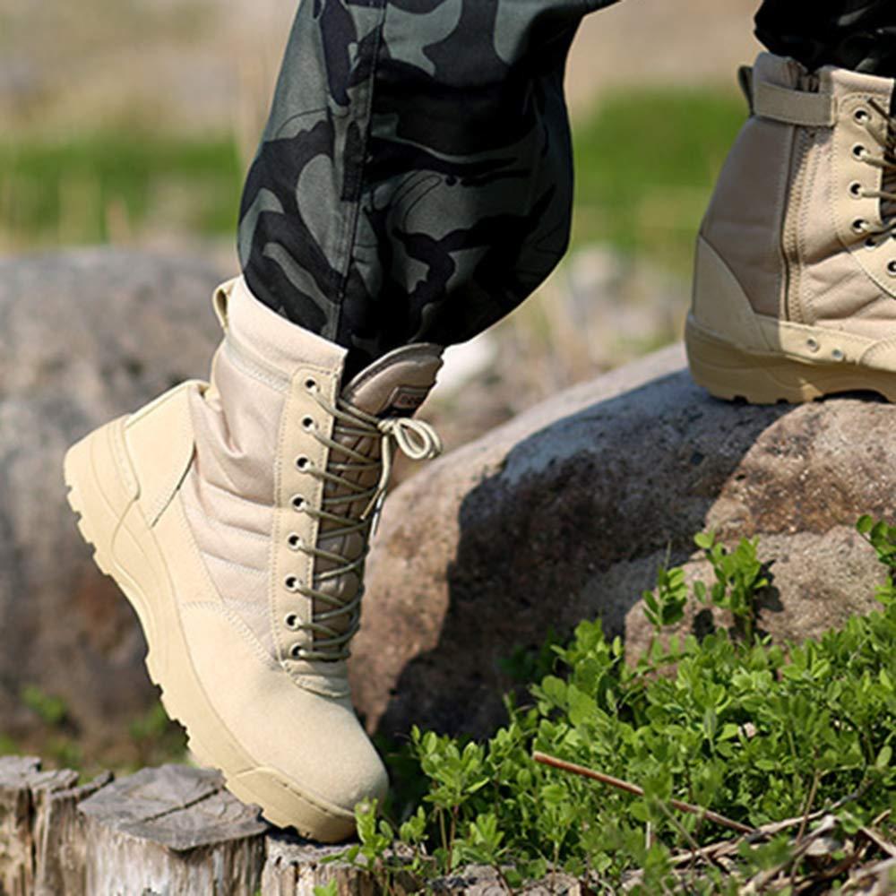Herren Hoch Spitze Außenkampf Armed Stiefel Special Forces