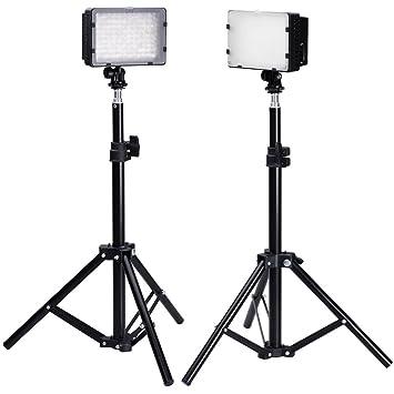 Neewer Photography 126 Led Studio Lighting Kit Amazon Co Uk