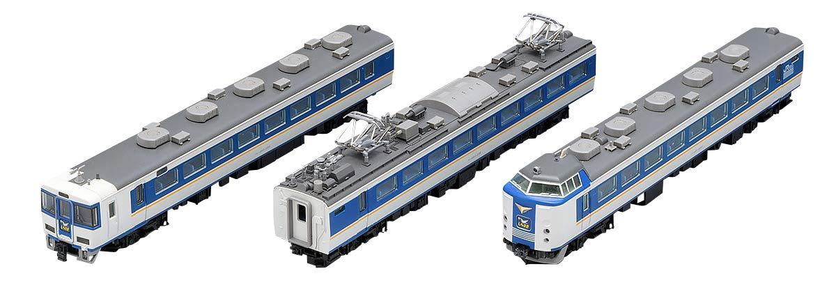 TOMIX Nゲージ 485系 特急電車 しらさぎ  新塗装 セットC 3両 98652 鉄道模型 電車   B07DPMH4TQ