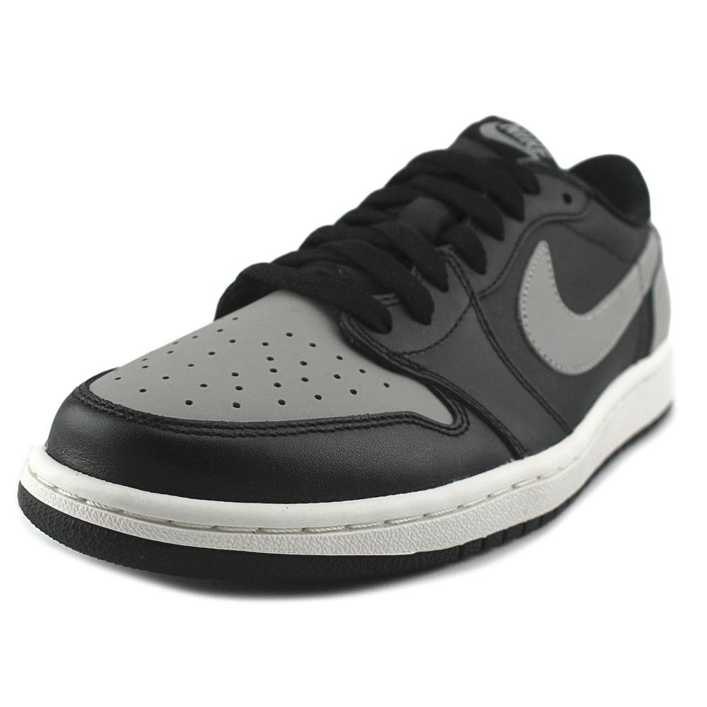 finest selection 37a65 6a1e7 Galleon - Nike Mens Air Jordan 1 Retro Low OG Black Medium Grey Sail  Basketball Shoe 12 Men US
