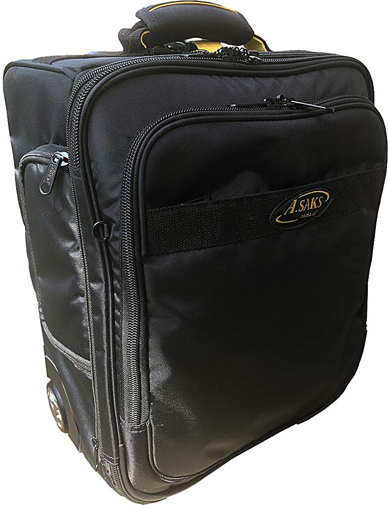 A.Saks 17 Expandable Upright Under-the-Seat Carry-on