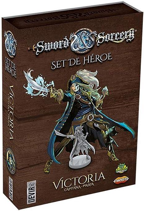 Devir- Sword & Sorcery Personajes: Victoria (BGSISPV): Amazon.es: Juguetes y juegos