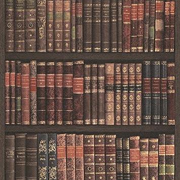 Tapete Bücherregal rasch bücherregal muster tapete bücher kasten bibliothek faux effekt