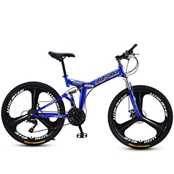LYXQQ Bicicleta Urbana Plegable, Bicicleta Plegables Adultos ...