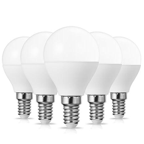 JandCase E14 - Bombilla LED de luz blanca fría (6000 K, 25 W,