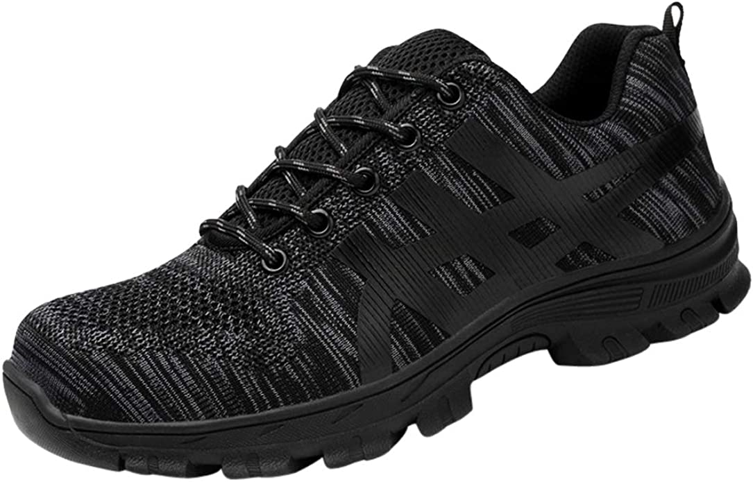 Steel Toe Work Safety Shoes for Men