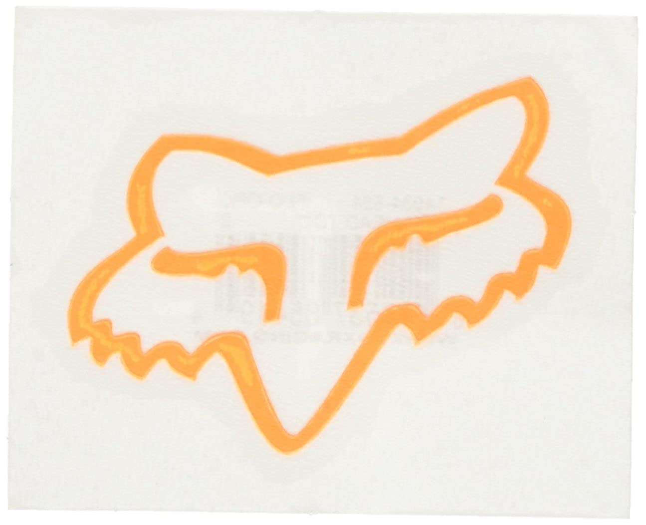 Fox Mens Head TDC-2 Sticker Flo Yellow One Size Fox Young Men/'s 14934-130