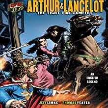 Arthur & Lancelot: The Fight for Camelot [An English Legend] Audiobook by Jeff Limke Narrated by  Book Buddy Digital Media