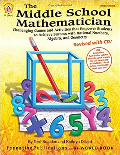 Amazon.com: The Middle School Mathematician, Revised with CD (TRES ...