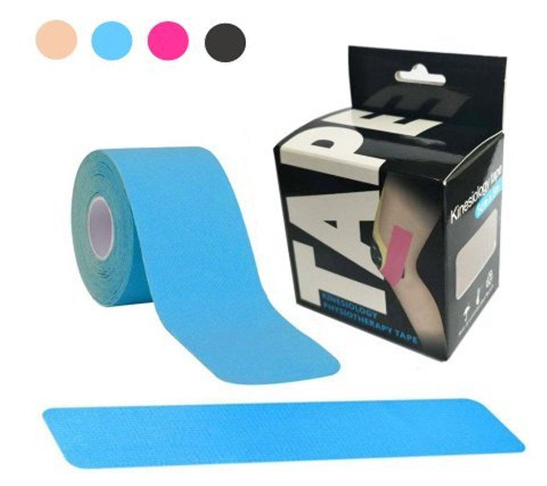 Kinesiology Sports Tape, Elastic Adhesive Latex Free Waterproof Athletic Tape