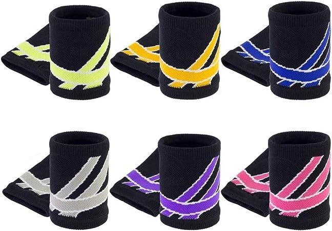 color/é YUIO/® Arc-en-Coton Coton Absorbant la Sueur Serviette de Sport Bracelet Basket-Ball Badminton Designer Poignet personnalis/é Logo Protecteur Cadeaux